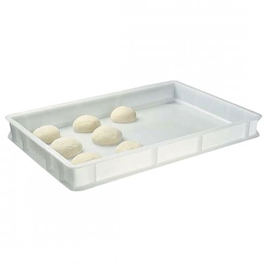 cassetta in plastica per palline pizza, 600x400x100 mm